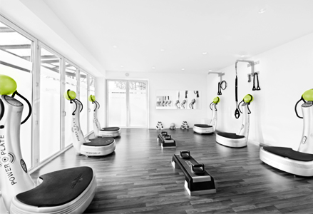 Training mit POWER PLATE